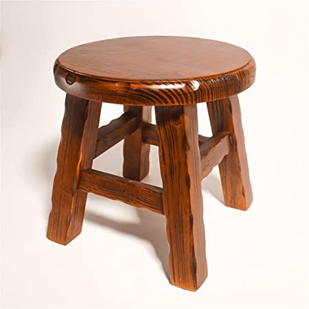 Amazing Aidelai Stool Chair Stool Solid Wood Small Round Stool Alphanode Cool Chair Designs And Ideas Alphanodeonline