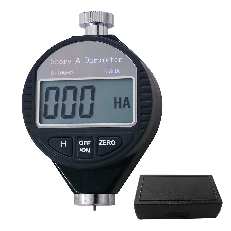 0-100HDショアD硬度デュロメータデジタルデュロメータスケール、ゴム、タイヤ、プラスチック、サーマルプラスチック、フローリング、大型LCDディスプレイ付きボウリングボール