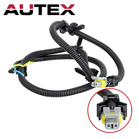 AUTEX ABS Wheel Sd Sensor Harness N15003 10340315 compatible with  on 1996 dodge caravan wiring harness, 2002 dodge grand caravan wiring harness, 2003 kia sorento wiring harness, 2003 pontiac aztek wiring harness, 2003 ford explorer wiring harness, 2003 pontiac bonneville wiring harness, 2003 pontiac grand am wiring harness, 2004 mazda 6 wiring harness, 2000 pontiac grand am wiring harness, 2008 pontiac grand prix wiring harness, 2007 pontiac grand prix wiring harness, 2001 pontiac grand am wiring harness, 2004 saturn vue wiring harness, 2002 jeep grand cherokee wiring harness, 2004 ford mustang wiring harness, 2004 chevrolet tahoe wiring harness, 2005 chrysler pacifica wiring harness, 2004 hyundai santa fe wiring harness, 1990 nissan 300zx wiring harness, 2002 ford focus wiring harness,