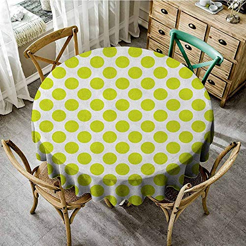 Round Tablecloth Gingham 70