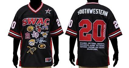 buy popular c6485 5fb50 Amazon.com : Black SWAC Championship Team Logo Heavyweight ...