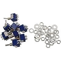 TOOGOO(R) 8 piezas de AC 125V 6A Amplificadores