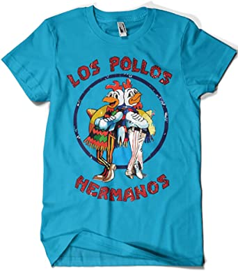 1526-Camiseta Breaking Bad - Los Pollos Hermanos: Amazon.es: Ropa y accesorios