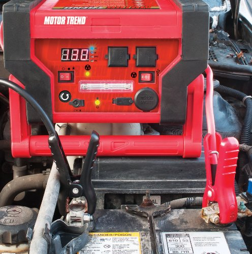 Motor Trend (JSM-0599) Flat Professional Series  6 In 1 Heavy Duty  Jumpstart With 900 Peak Amps and 450 Instant Charging Amps by Motor Trend (Image #1)