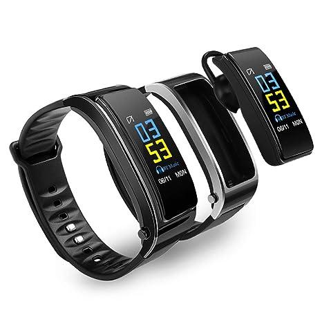 MDMMBB La pantalla multifunción en color puede llamar a un auricular Bluetooth con pulsera inteligente dos