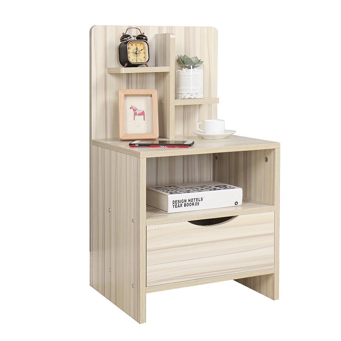 野望既に慎重ぼん家具 サイドテーブル ベッドサイドテーブル ソファーテーブル ナイトテーブル コンパクトテーブル ナチュラル