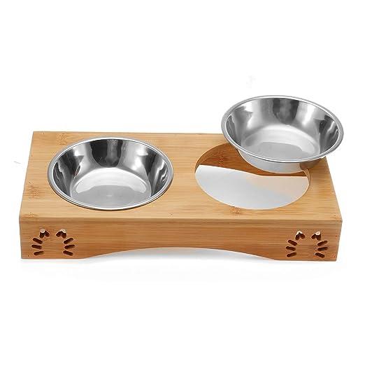 XIAOCONG - Fuente de alimentación para Perros y Gatos de ...
