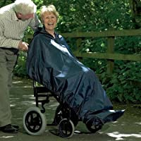 Homecraft Long Length Sleeveless Wheelchair Mac (Eligible for VAT relief in the UK)
