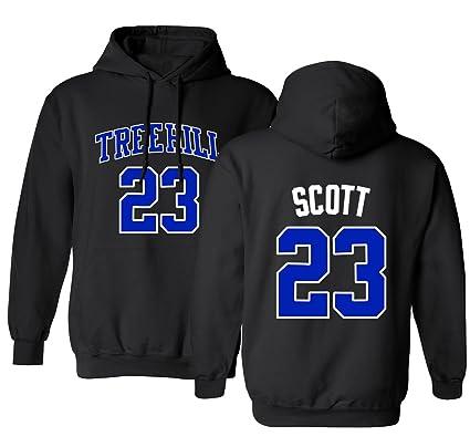 1c9d55b8b774 RAVENS Basketball Movie  23 Nathan Scott One Tree Hill Jersey Style Men s  Hoodie Sweatshirt (