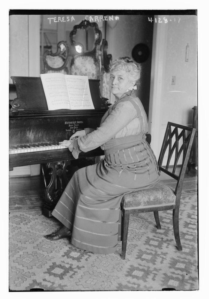Teresa Carreno de fotos de 1915 de los venezolanos pianista ...