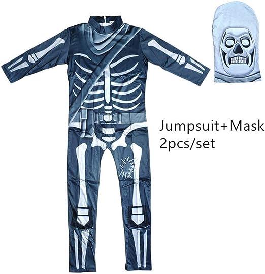 FUPOA Disfraz de Horror Skull Trooper Disfraces de Cosplay de ...