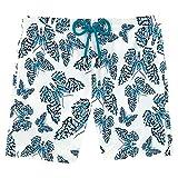 Vilbrequin Vilebrequin Butterflies Superflex Swim shorts - Men - L - Azure