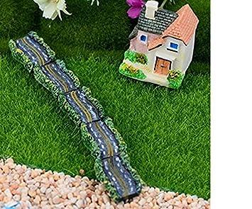 Lytshop - Caseta de muñecas en Miniatura para jardín Bonsai, Paisaje de Asfalto y Carretera, 2 Unidades: Amazon.es: Informática