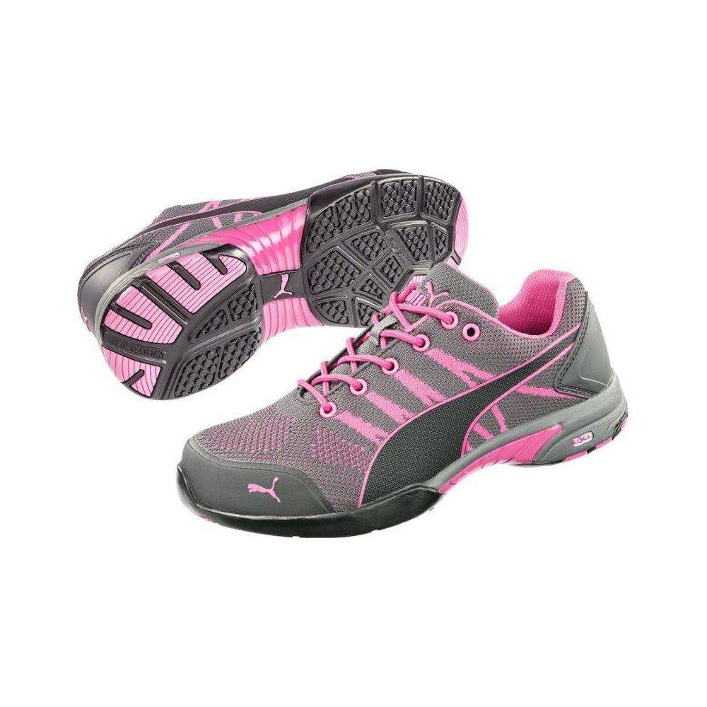 PUMA Safety Womens Celerity Knit SD B06WW5JZYT 6.5 B(M) US|Pink