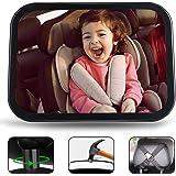 Jasonwell Espejo Retrovisor Espejo de Bebé Espejo para Bebe Auto Espejo Retrovisor Bebe Automovil Grande Accesorios para…