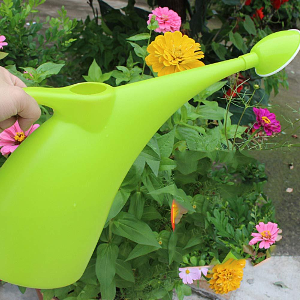bismarckber 2 L Fruit Green Shower* Regadera de Gran Capacidad con Boquilla Larga para Plantas de jard/ín