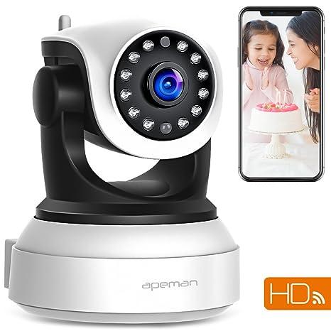 Amazoncom Apeman Wifi Ip Camera 720p Wireless Home Security