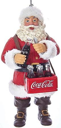 Coca-Cola  Kurt Adler Glass Coca-Cola Christmas Truck Ornament