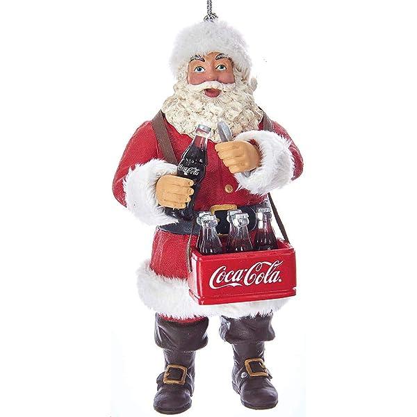 Coca-Cola Kurt Adler Vending Machine Cooler Holiday Christmas Ornament