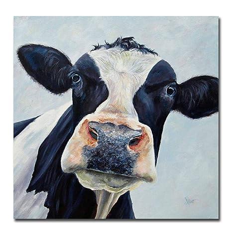 YYT123 Pintura Moderna Linda Toro Pared Arte Imagen ...