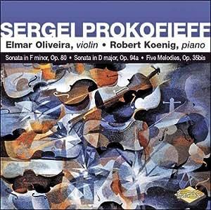 Prokofieff Sonatas for Violin
