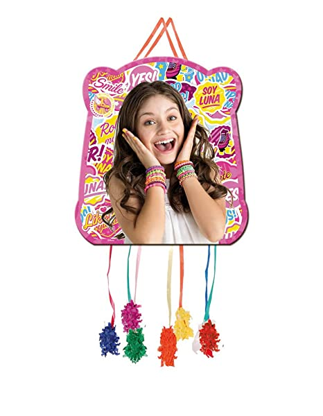 Soy Luna Pull String Paper Pinata 11x7in