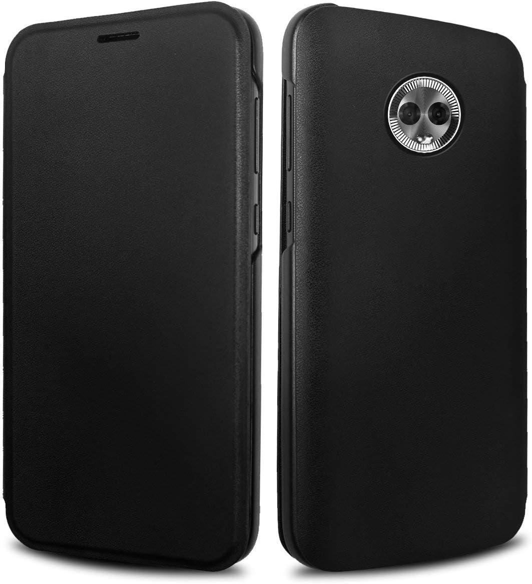 Lenovo PTM7C01692 Flip Cover for Moto G6 - Grey