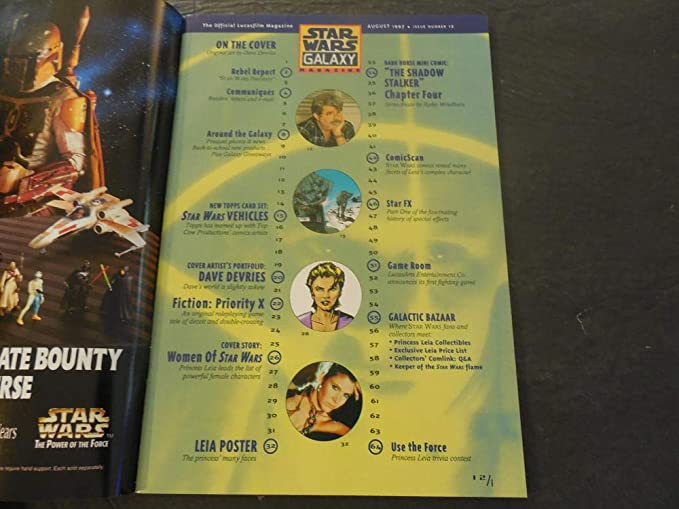 Star Wars Galaxy Magazine #12 With Poster at Amazons Entertainment Collectibles Store