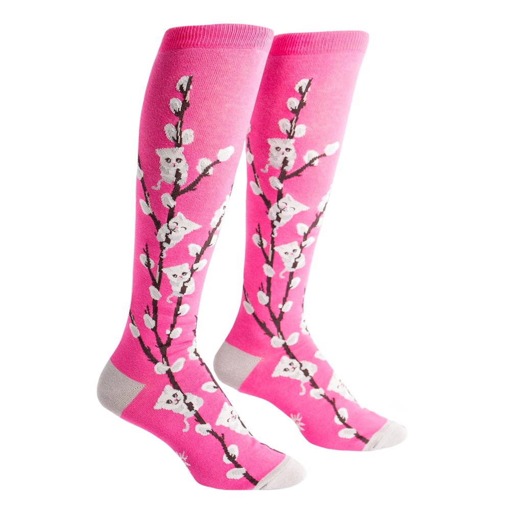 Sock It To Me Kitty Willows Knee High Sock F0293