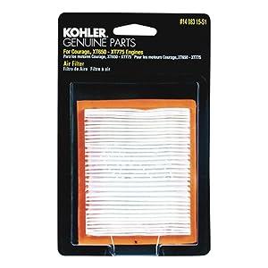 Kohler 14-083-15-S1 Lawn & Garden Equipment Engine Air Filter Genuine Original Equipment Manufacturer (OEM) Part