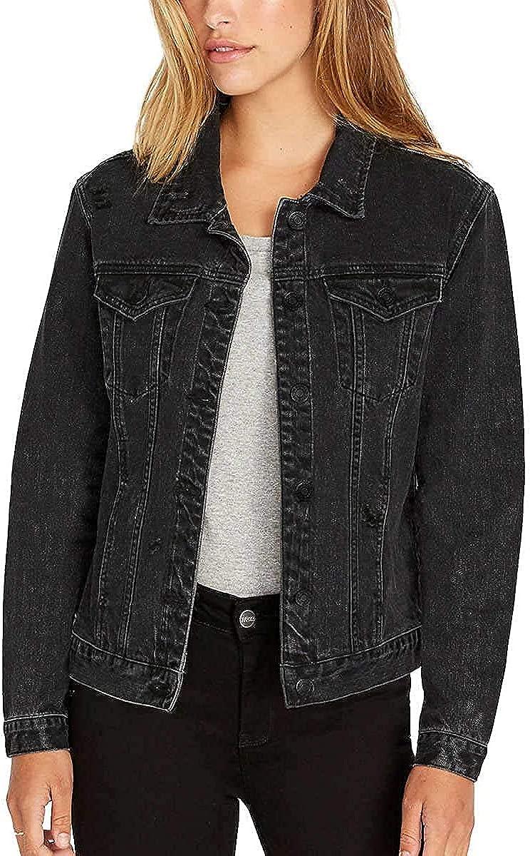 Buffalo David Bitton Womens Rigid Denim Jacket
