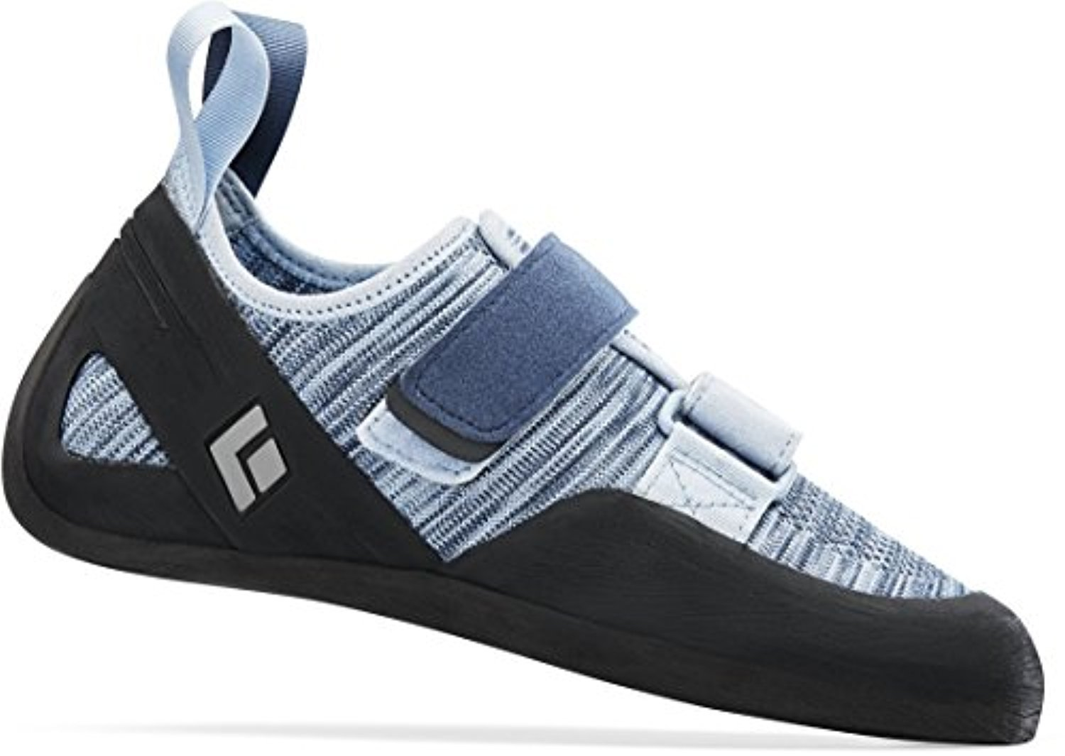 Black Diamond Momentum- Women's Climbing Shoes Blue Steel 9 & Towel Bundle