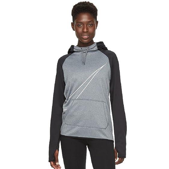 21f0cf31ab0e Amazon.com  Women s Nike Swoosh Therma Training Hoodie  Clothing