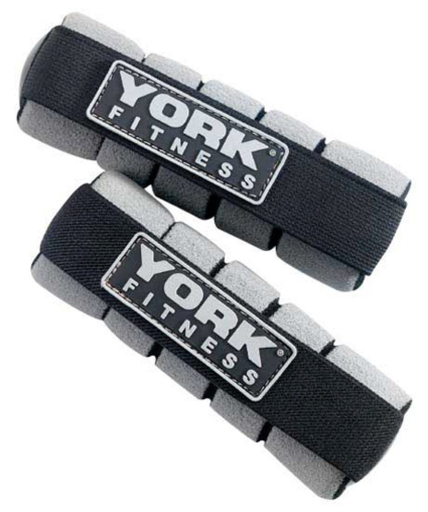 York Fitness 0.5kg or 1kg Mini Hand Weights x 2