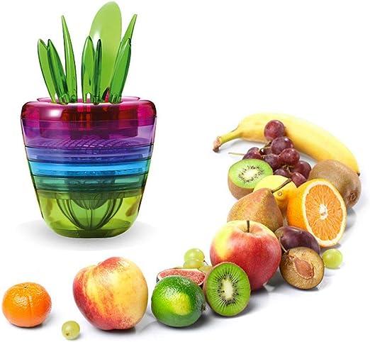Exprimidor Cortador Rallador Multiuso Cocina Fruits Plant