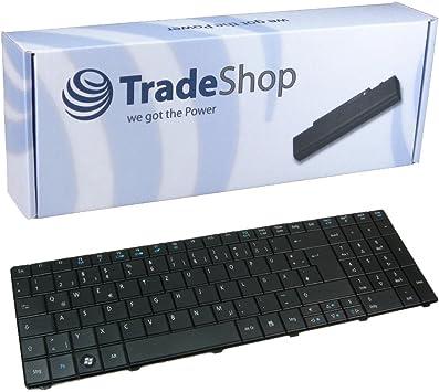 Teclado de ordenador portátil/Notebook Keyboard Intercambio Alemán QWERTZ de repuesto para Packard Bell BZ de te11hr TE11 TE11 de HC TK86 LM85 AC10 de ...