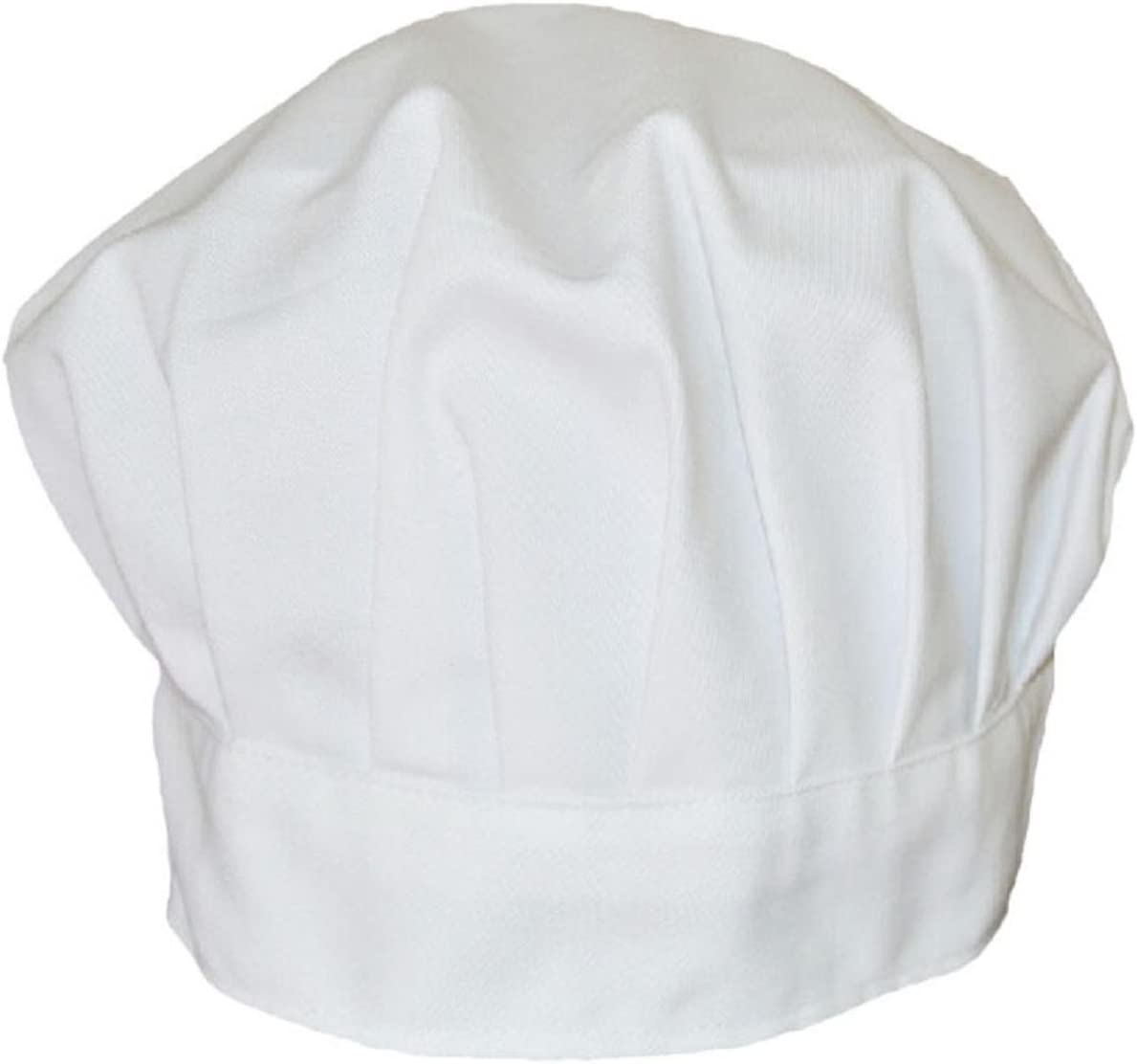 Witspace Chef Hats Fancy Dress Party Baker Cook Cooking BBQ Kitchen White Chef Hat Cap