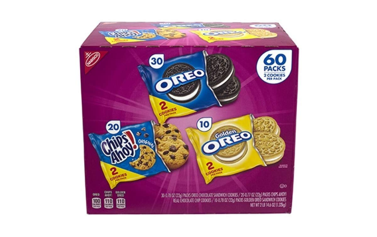Nabisco Cookie Variety Pack (60 pk.) (pack of 2) by NABISCO