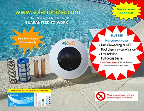 Water And Chlorine Solar Light