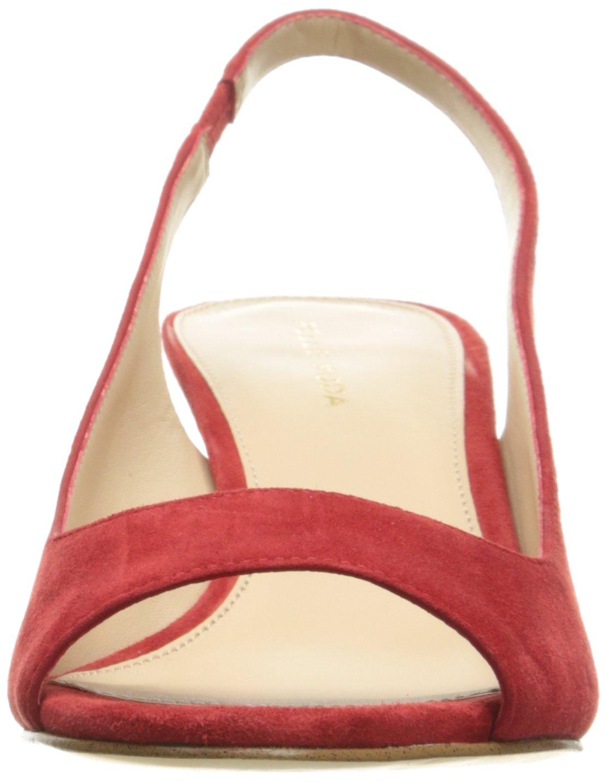Pelle Moda Women's Belini-Su Dress Pump B01MG4DKDS 6.5 B(M) US Red