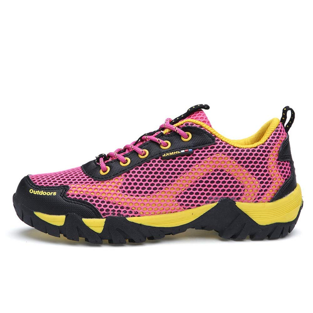 YAYADI Zapatillas para Hombres Mujeres Escalada Exterior Malla Transpirable Pareja Ocio Zapatos Zapatos Deportivos De Escalada Zapatos Antideslizantes.