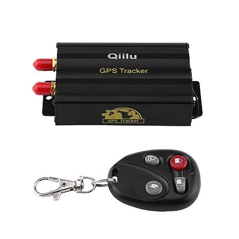 qiilu coche GPS Tracker GSM GPRS sistema Locator con el mando a distancia