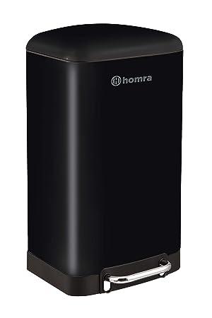 Homra Luxus - Cubo de Basura, 30 L, de Acero Inoxidable 30 ...