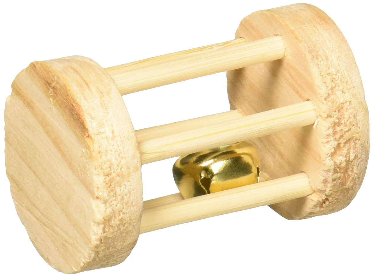 Trixie Wooden Playing Roll for Small Animals Ø 3.5 × 5cm
