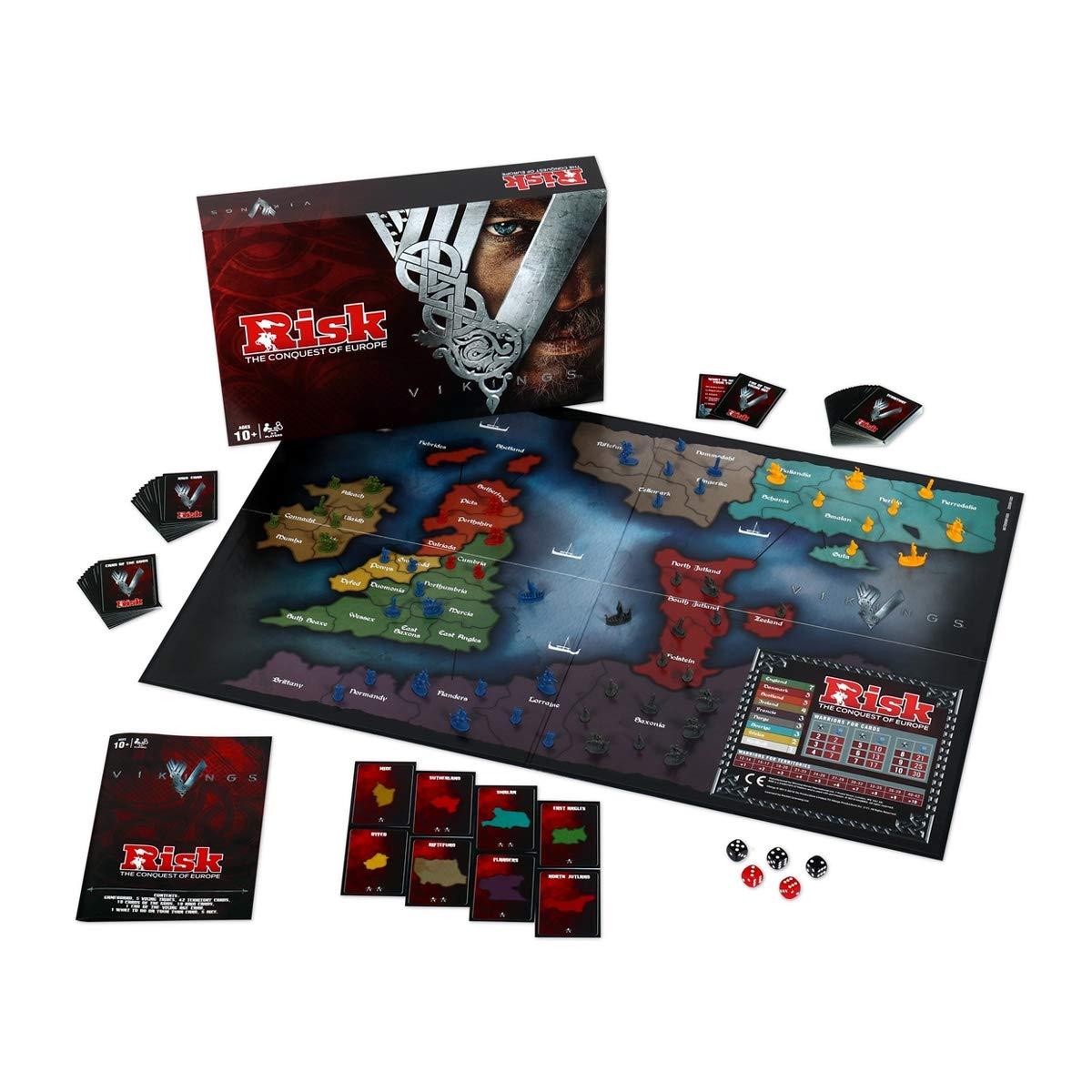 Vikings Risk Board Game: Amazon.es: Libros en idiomas extranjeros