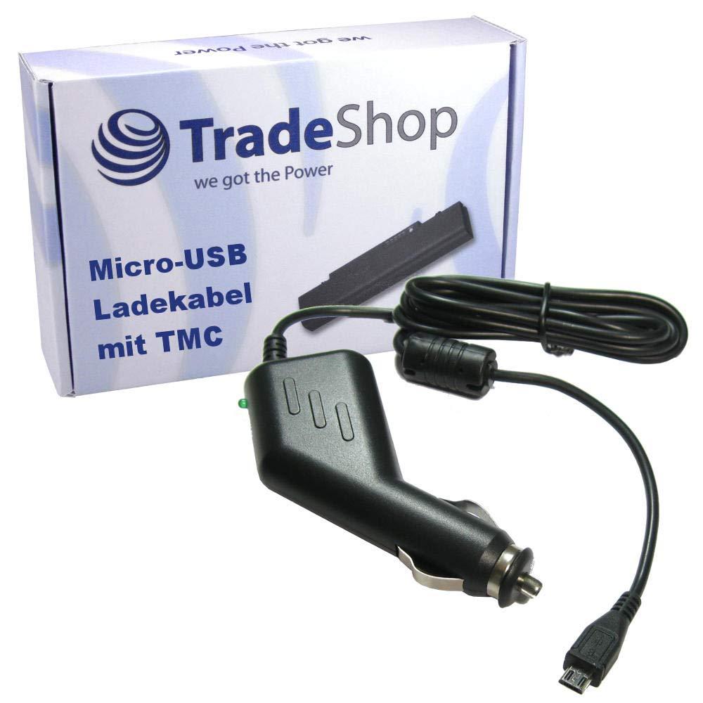 Neo 520 LMU Neo 640 Falk micro-USB coche cable cargador con TMC neo 520 Neo 620 LMU