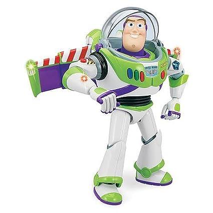 amazon com toy story disney advanced talking buzz lightyear action