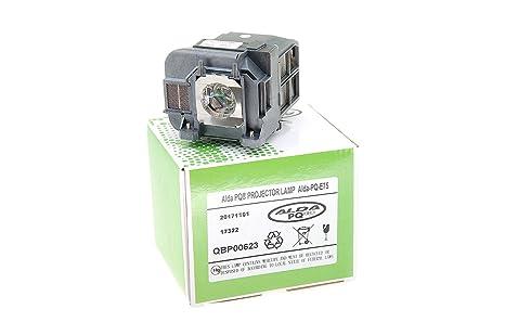 Alda pq premium lampada proiettore per epson eb w eb w