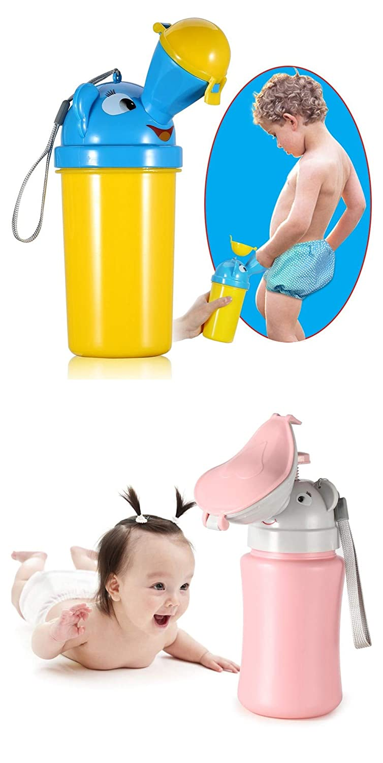 ONEDONE Portable Baby Child Potty Urinal Emergency Toilet for Camping Car Travel and Kid Potty Pee Training for Boys and Girls