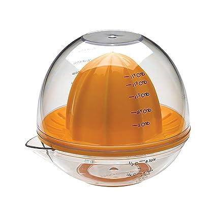 Baoblaze Exprimidor de Mano Manual Exprimidor de Cítricos Prensa de Jugo Limón Naranja con Taza de